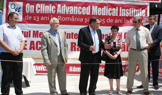 Grand Opening of the branch in Ramnicu Valcea (Romania) 06.06.2011